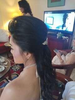 Service hair do /sanggul bandung 😁