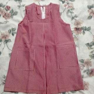 Checkered Red Uniform