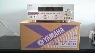 YAMAHA AV RECEIVER  AMPLI-TUNER AUDIO-VIDEO MODEL RX-V650