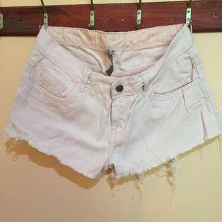REPRICED!!! Powdered Pink Booty Short
