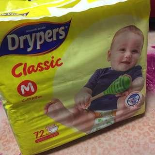 Drypers Classic Size M - 3 packs