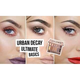 ✧ Urban Decay Naked Ultimate Basics Eye Shadow Palette ✧