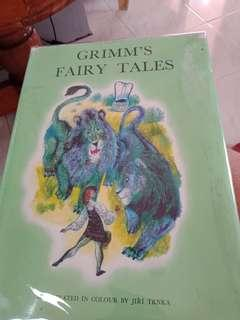 Grimm's fairy tale Illustrated version Large