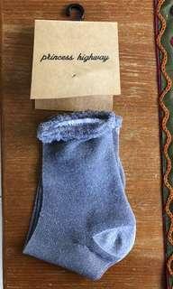Princess Highway Glitter Socks