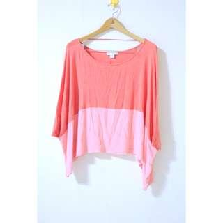 Cotton on two tone top