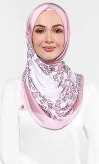 Authentic The Doily Duck scarf in Pink