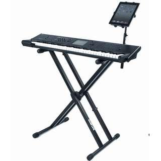 Quik Lok T20 Double-Brace single-tier keyboard X stand + Quik Lok IPS13 Universal tablet holder (limited stock) (limited time)