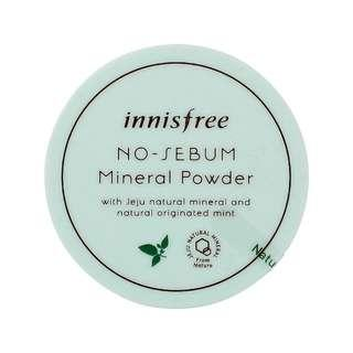 🚚 INNISFREE No-Sebum Mineral Powder