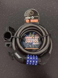 New Topzone Heavy Duty Bicycle Lock