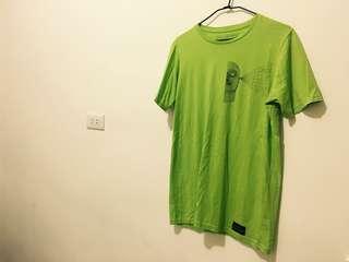 🚚 Pull&bear zara 副牌 綠色上衣 Tshirt 短袖#九月女裝半價