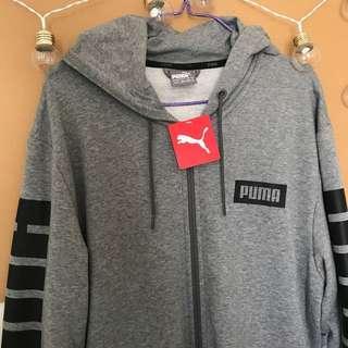 Puma hoodie with zip
