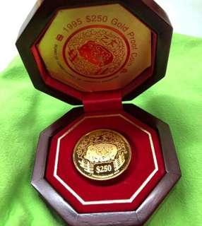 Singapore Coin - (999 Gold Coin - Piggy) 🌸🌸🌸🌸
