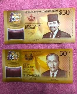 Commemorate Notes 🇧🇳🇧🇳🇸🇬🇸🇬