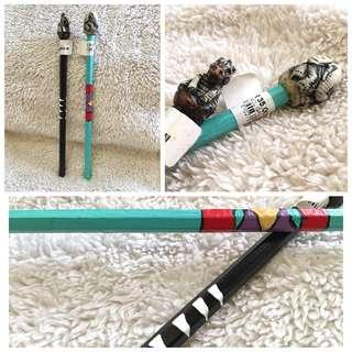 A Pair of African Wildlife Pencils from South Africa