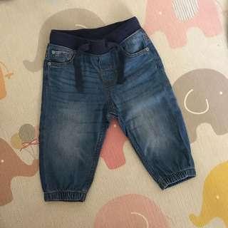 H&M long pant denim (9-12Months)
