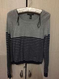 Forever 21 Knitted Top (semi crop top)