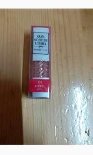 低至1折! 全新未開封sasatinnie moisture glam lipstick 唇膏 #02
