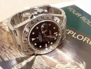 Rolex 16570 Explorer II 888行貨齊格齊紙盒