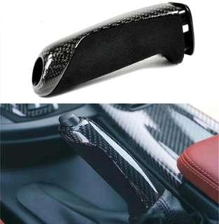 Carbon Fiber Hand Brake Trim Cover For F30