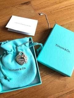 💯Authentic Tiffany & Co Heart Key Necklace