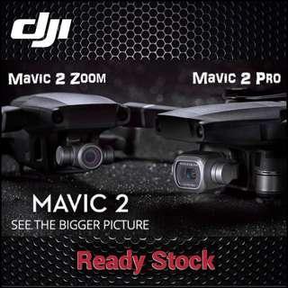 DJI Mavic 2 Pro/ Mavic 2 Zoom/ Ready stock! Local DJI 1 Year Warranty! New Release!
