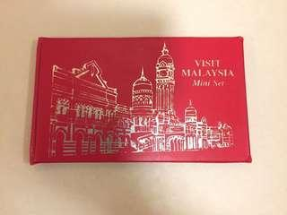 Malaysia mini set - coins and stamps