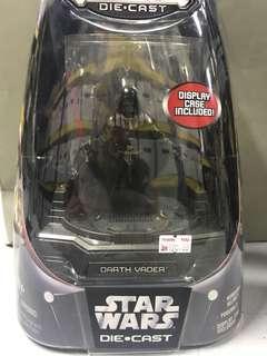 Star wars die cast darth vader