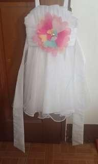 White dress for toddlers