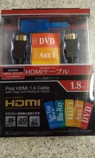 HDMI 1.4 Cable(1.8m)/RF Cable以上產品全要$100