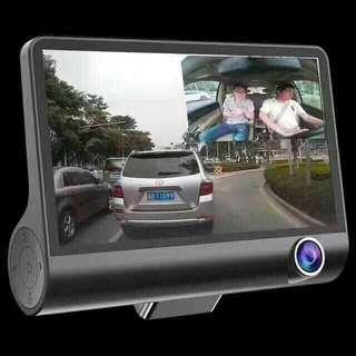 3 lenses HD DVR