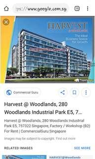 Harvest@woodlands b2 fty for rent