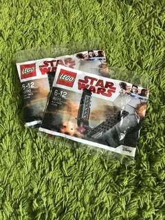 LEGO star war toy , 2 packs