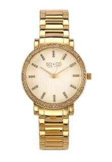 sale !! authentic so&co madison watch