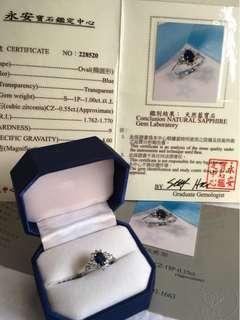 真愛藍寶戒指  #小資女的最愛~低調、簡單又不失優雅!在價格、視覺效果上絶對滿分⋯