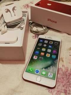 iphone 7Plus Red Edition mulus