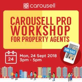 Carousell Pro Listing Workshop for Property Agents (24 Sept 2018)