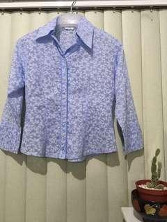 CALLIA FLORAL BLouses