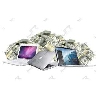 WE BUY IN MACBOOK @CASH