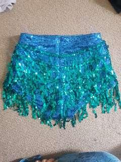 ELSIE AND FRED LA BAMBA SEQUIN SHORTS