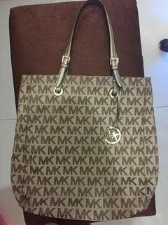 Authentic Mk jet set Tote