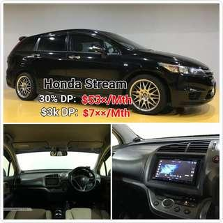 Honda Stream Rental | Sales. 💯% LOAN APPROAL.