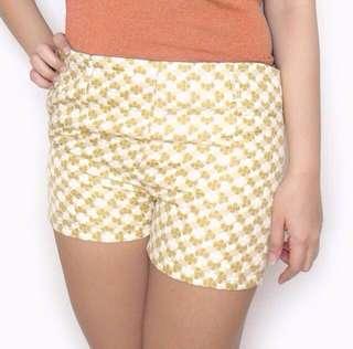 Clover Beige Shorts