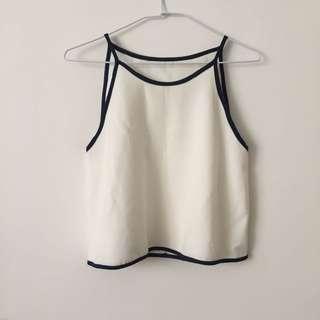 🚚 全新 削肩雪紡上衣 #九月女裝半價