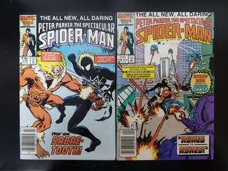 Peter Parker Spectacular Spider-Man (vol.1) #116 & 118