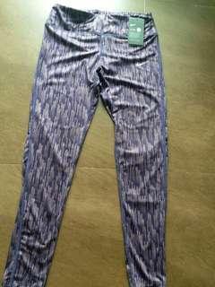 NIKE FLEX DRl-FIT W0MEN Size M ,Nike紫色女裝運動長褲