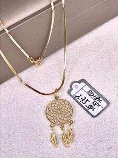 18k Real Saudi Gold Necklace.