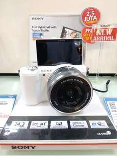 Kamera Mirroles Sony ILCE-5100 New (Cicilan Cepat Tanpa Kartu kredit)