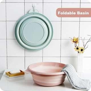 Portable Foldable Basin - Save Space with Collapsible function/ Laundry