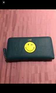 Brand New Anya Emoticon Leather Wallet