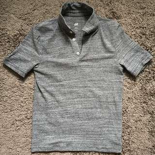 H&M Stretchable Polo Shirt [slim fit]